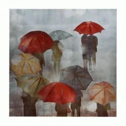 """Πίνακας """"Ομπρέλες"""""""