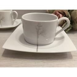 Φλυτζάνια του τσαγιού Kyoto silver by Cryspo Trio