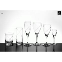 Ποτήρια  φλούτ  6τεμ N169