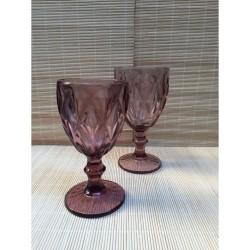 Ποτήρια με πόδι 220 ml Kare by Cryspo Trio